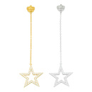 Star Burst Earring(chain)