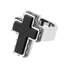 JUSTIN God Cross Ring
