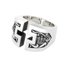 Divine Law Cross Ring