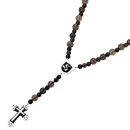 SAHRIVAR シャフリーバル D.A Wood Rosary Smoky Quartz