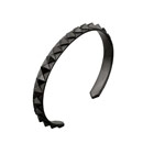 RAGGIO SQUARE BANGLE A BLACK