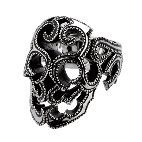 ガーデル SURVIVE SKULL RING UT