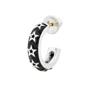 Black Star Earring