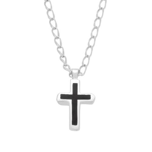 Sn122s18s enameled chiseld cross necklace sv enameled chiseld cross necklace sv mozeypictures Choice Image