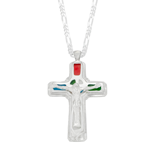 Mi Vida Loca Jesus Necklace